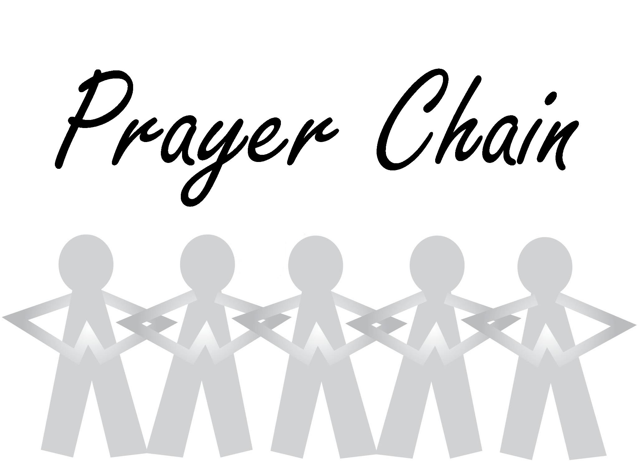 Pray Chain List Family Of Christ Lutheran Church