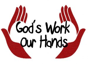 god works gods hands